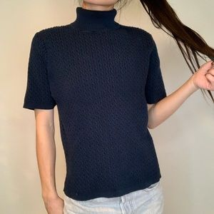Pendleton Turtleneck Cable Knit Sweater